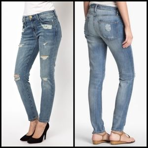 Current/Elliott Stiletto Shipwreck jeans size 30